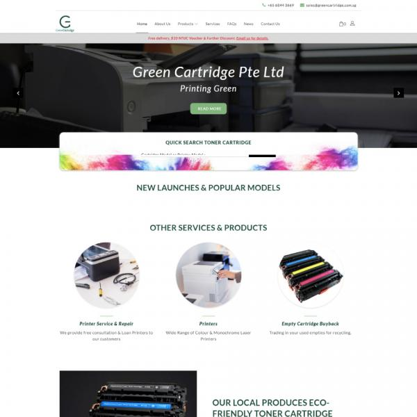 Green Cartridge Pte Ltd
